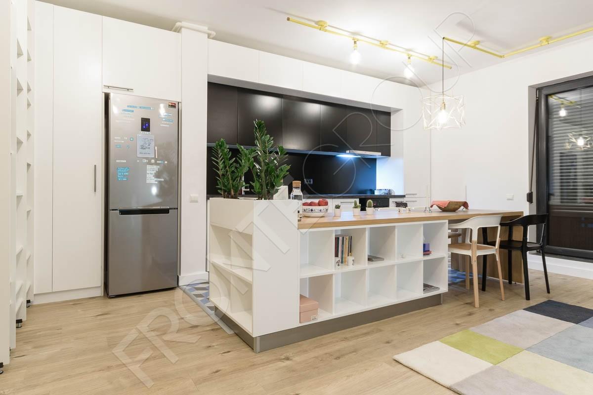 Bucătărie Chess - Fronte - Producător Mobilă București