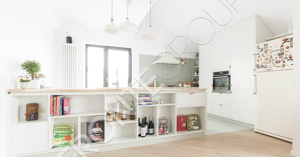 Bucătărie Shades Of White