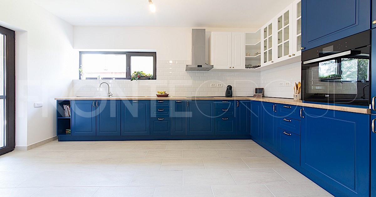 Bucătăria Deep Blue